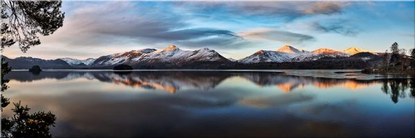 Cat Bells from Friars Crag - Canvas Print