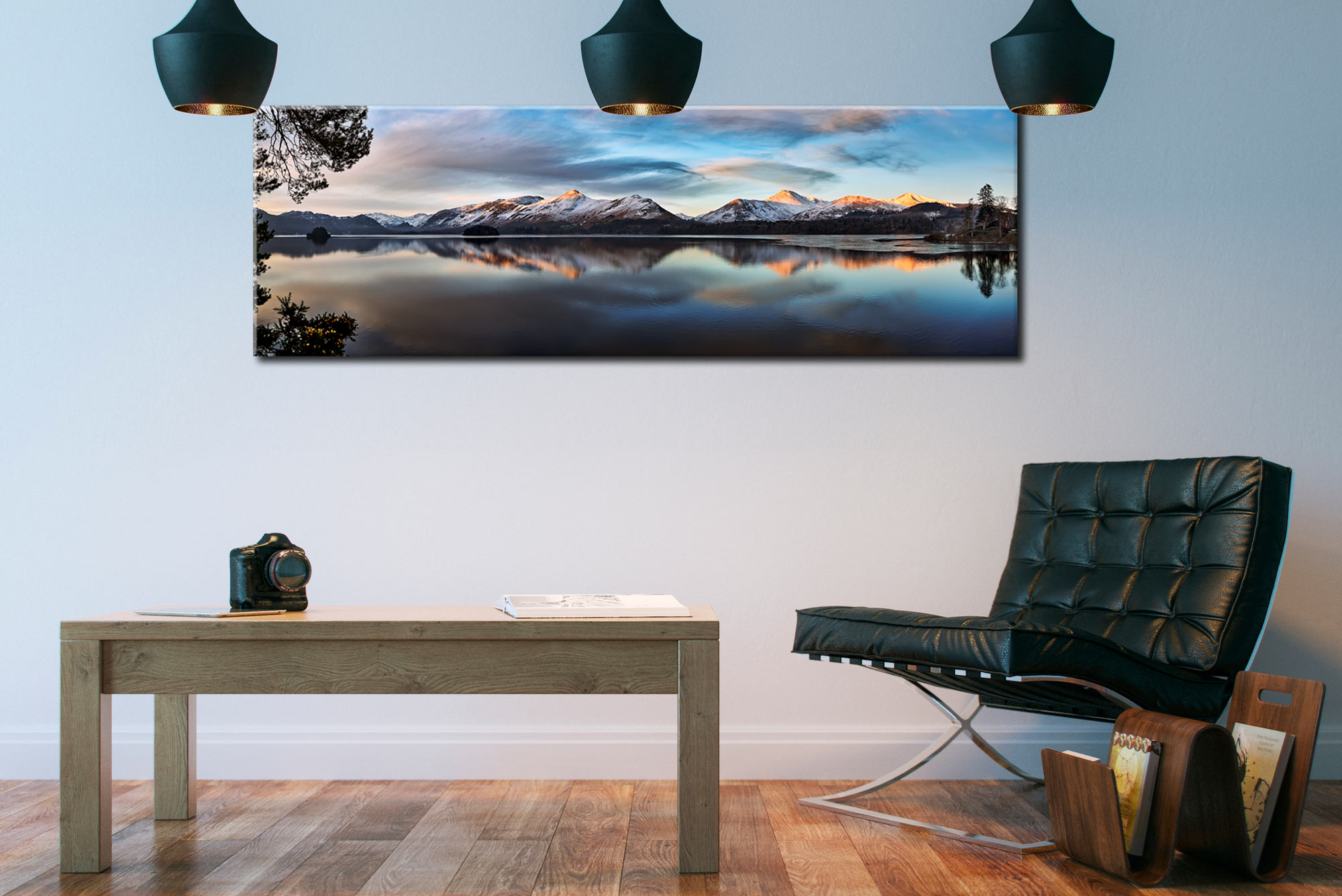 Cat Bells from Friars Crag - Canvas Print on Wall