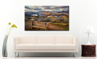 Best Seat in the House  - Canvas Print on Wall