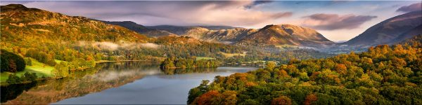 Grasmere Autumn Morning - Canvas Print