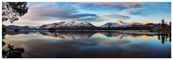 Cat Bells from Friars Crag - Lake District Print