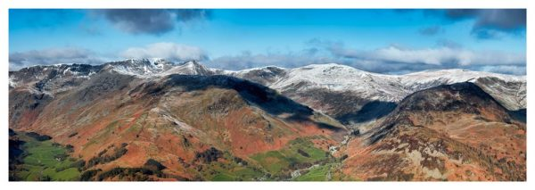 Glenridding Lake District Panorama - Lake District Print