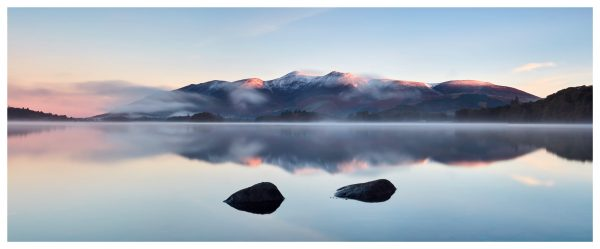 New Day Dawns Over Derwent Water - Lake District Poster
