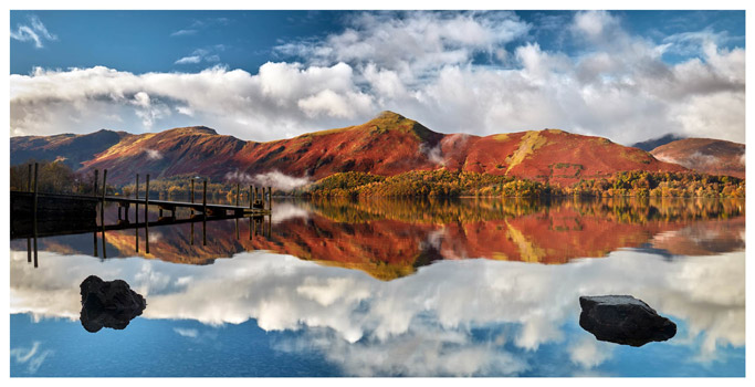 Cat Bells in Autumn - Lake District Print