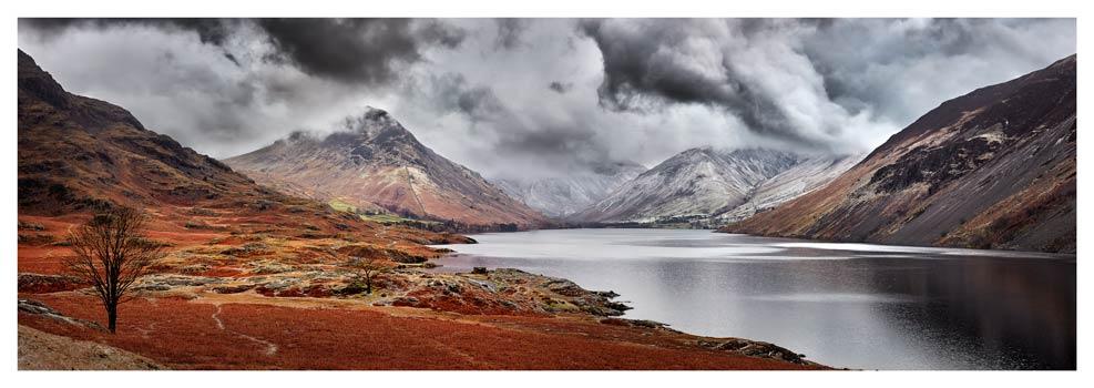 Dark Skies Over Wast Water - Lake District Print