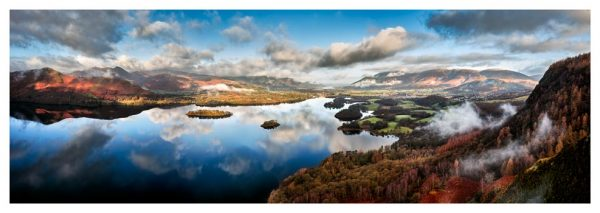 Clouds and Islands - Lake District Print