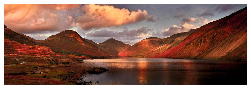 Dusk at Wast Water - Lake District Print