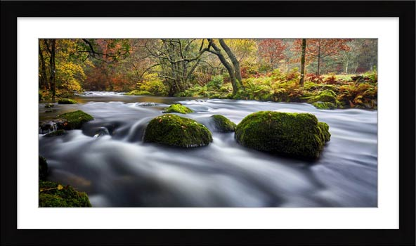 River Rothay in White Moss Woods - Framed Print with Mount
