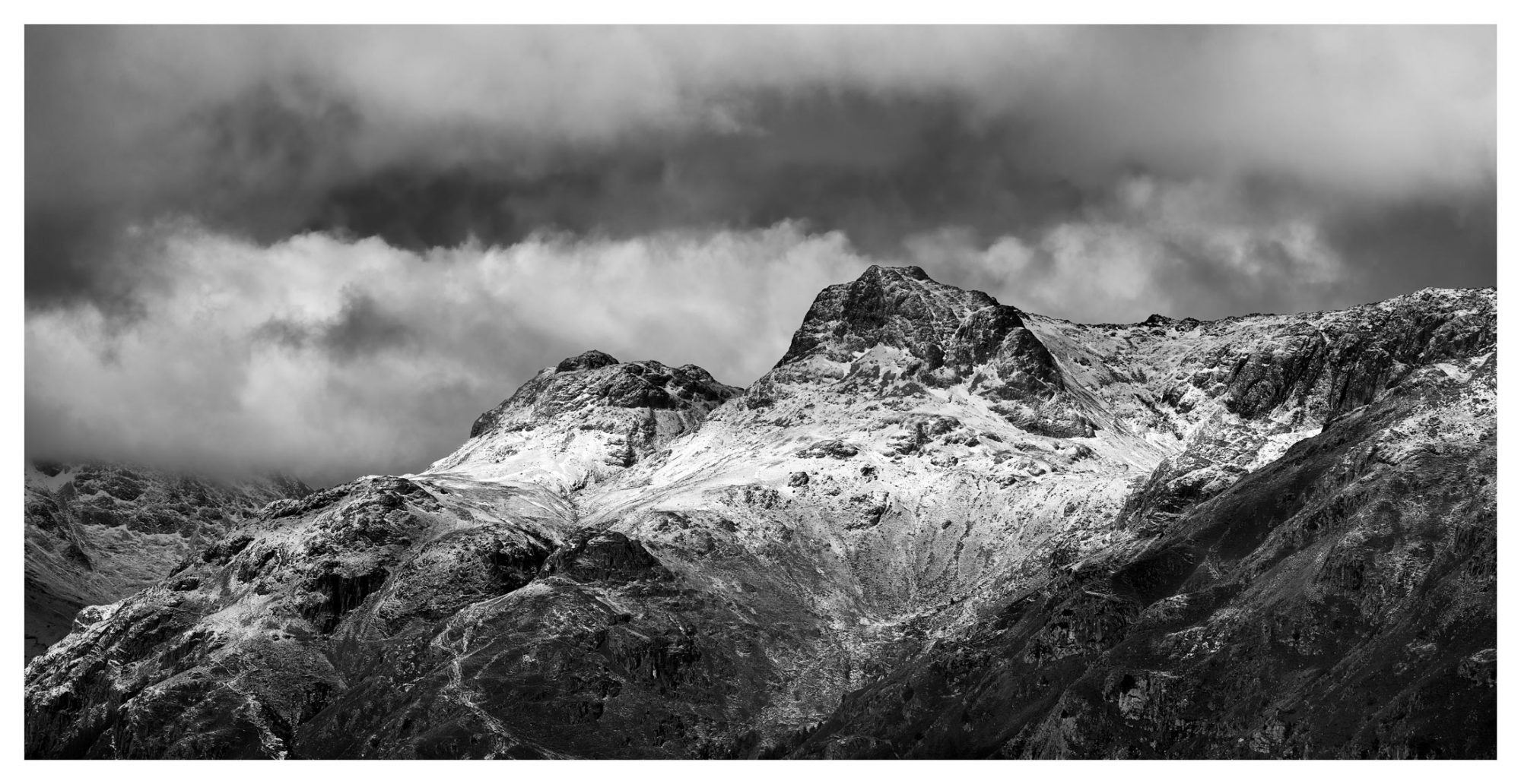 The Dark Pikes - Lake District Print