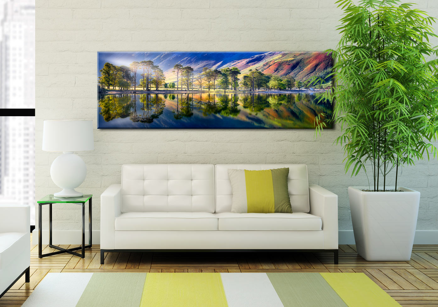 Buttermere Tranquility - Canvas Print on Wall