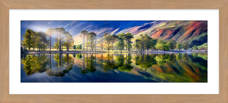 Buttermere Tranquility - Framed Print with Mount