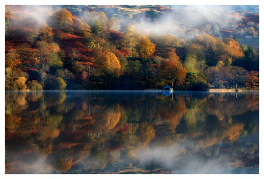 Rydal Water Autumn - Lake District Print