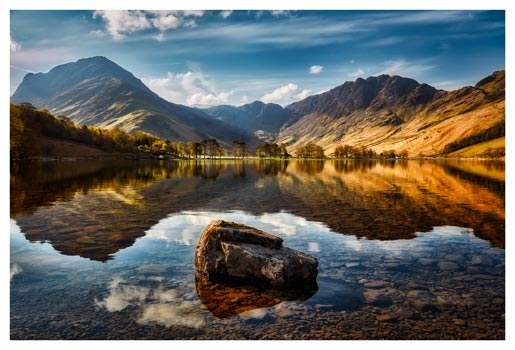 The Buttermere Rock- Lake District Print