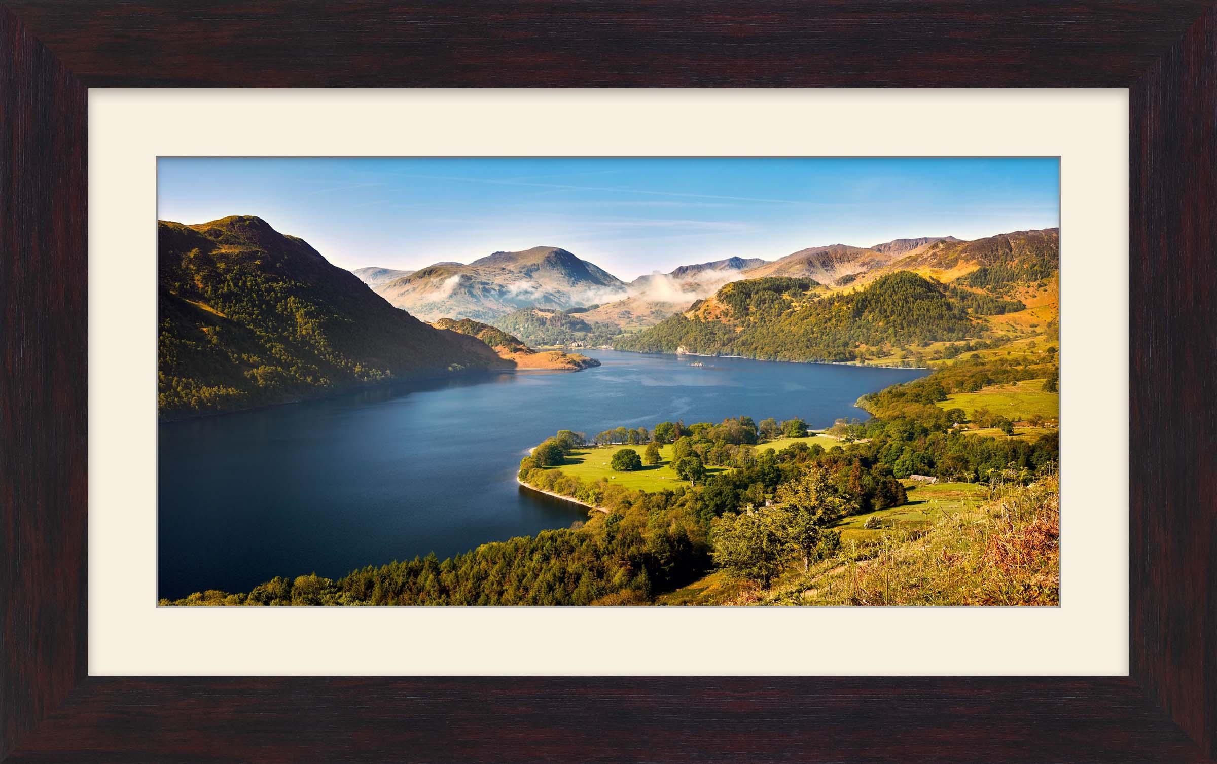 Spring at Ullswater - Lake District Framed Prints