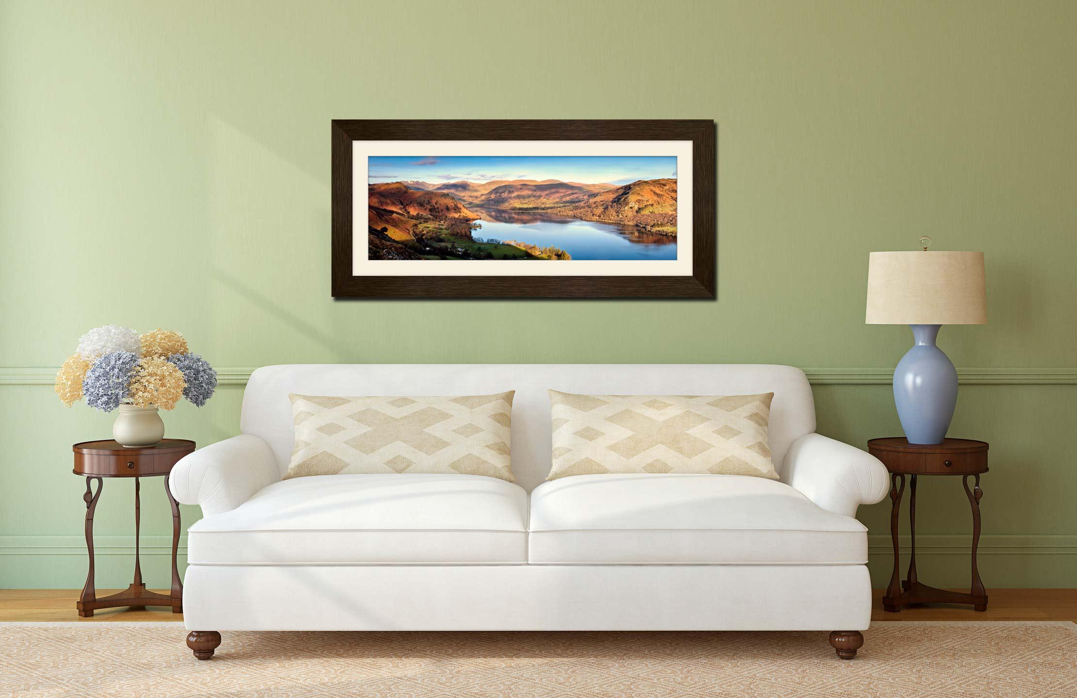 Morning Light on Ullswater - Lake District Prints