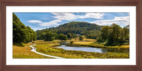 River Brathay Walk - Framed Print with Mount