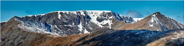 Helvellyn Snow Capped - Canvas Print