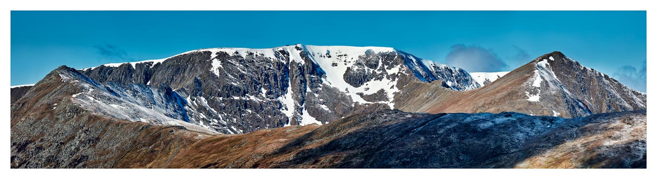 Helvellyn Snow Capped - Lake District Print