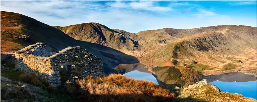 Haweswater Ruins - Canvas Print