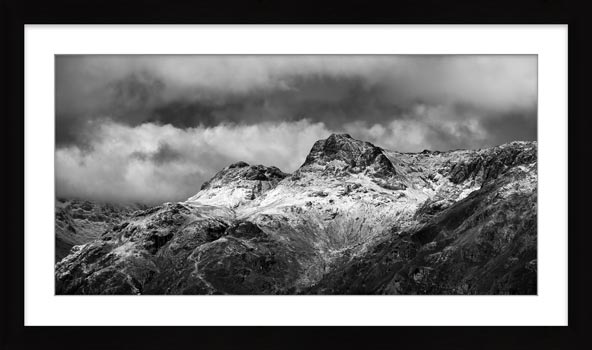 The Dark Pikes - Framed Print with Mount