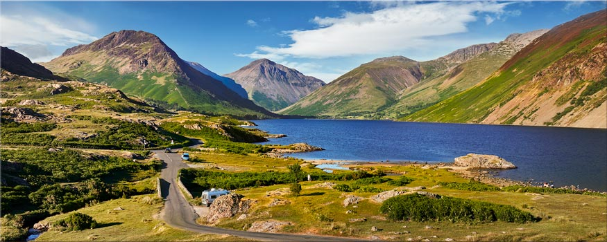 Summer at Wast Water - Canvas Print