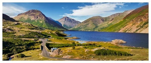 Summer at Wast Water - Lake District Print