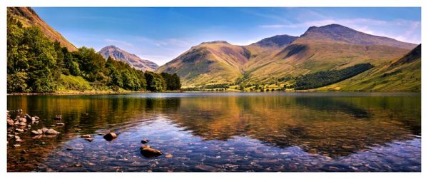 Sca Fell in Summer - Lake District Print