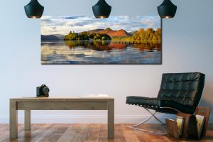 Derwent Isle and Cat Bells - Canvas Print on Wall