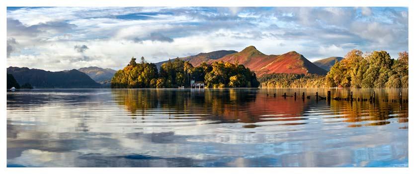 Derwent Isle and Cat Bells - Lake District Print