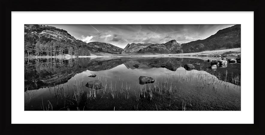 Serenity of Blea Tarn - Framed Print with Mount