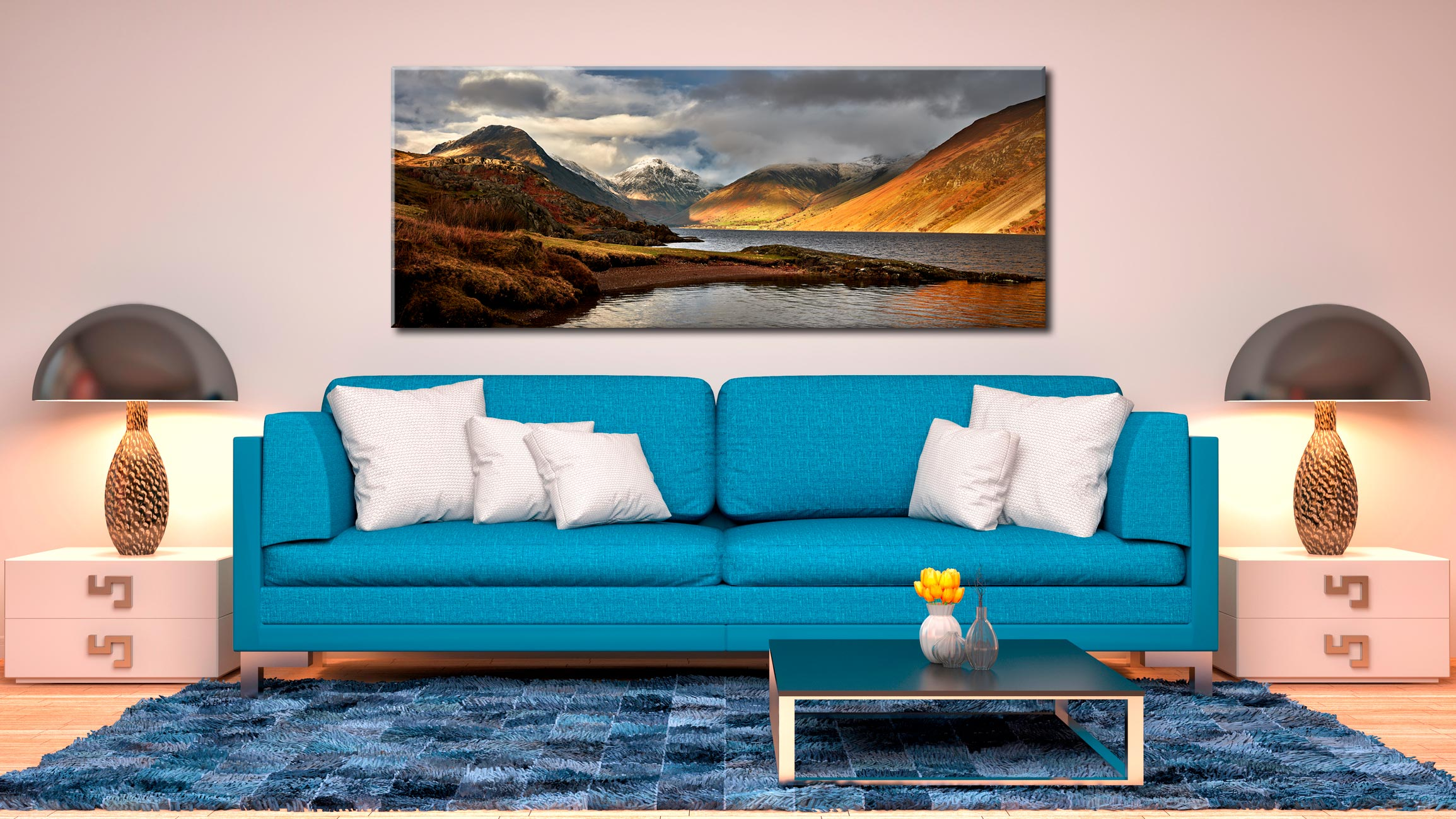 Glorious Lake District - Canvas Print on Wall