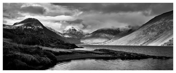 Glorious Lake District - Black White Print