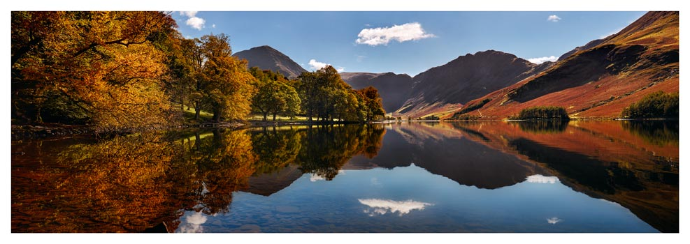 Buttermere Autumn Trees - Prints of Lake District