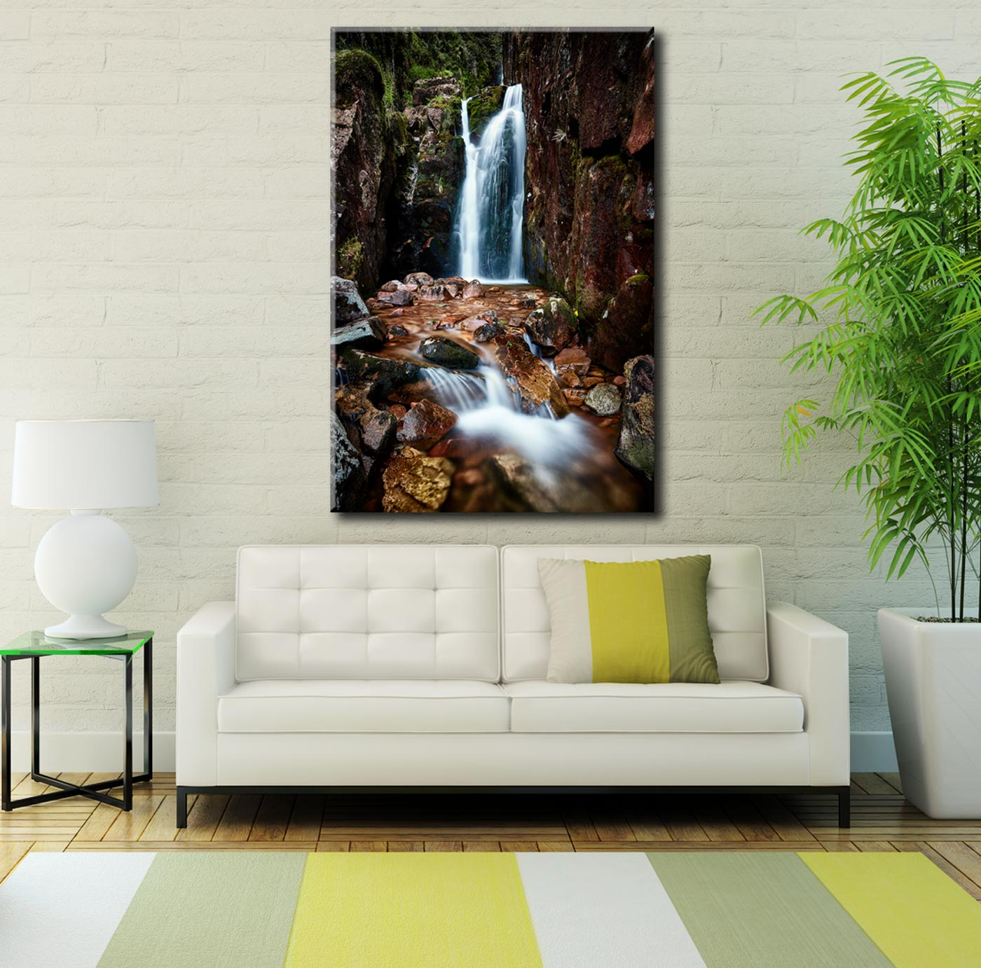 Scale Force Gorge - Lake District Canvas on Wall