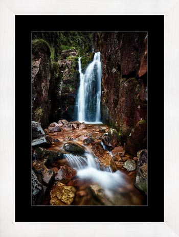Scale Force Gorge - Framed Print with Mount