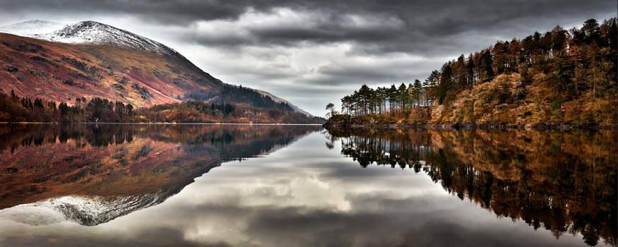 Thirlmere Late Autumn - Canvas Print