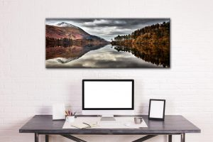 Thirlmere Late Autumn - Canvas Print on Wall