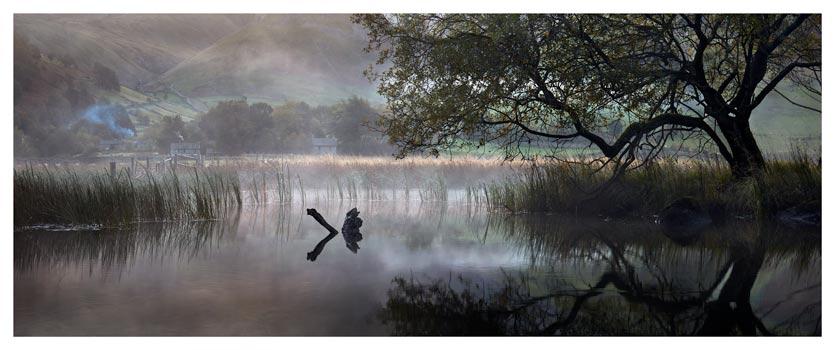 Hartsop Misty Morning - Lake District Print
