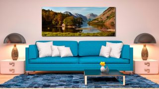 Wast Water Boathouse - Canvas Print on Wall