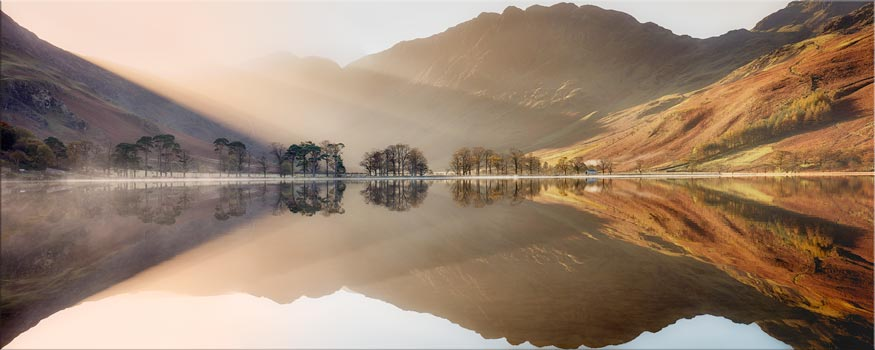 Bright Light on Buttermere - Canvas Print