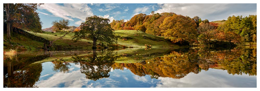 Loughrigg Tarn Autumn Reflections - Prints of Lake District