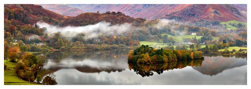 Grasmere Autumn Mists - Prints of Lake District