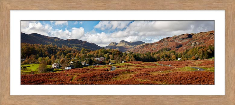 Elterwater Common - Framed Print with Mount