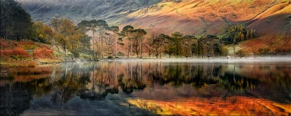 Golden Buttermere - Canvas Print