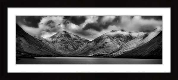 Great Gable and Lingmell - Framed Print with Mount