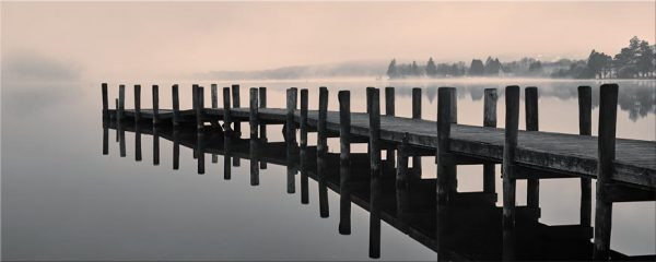 Coniston Jetty - Canvas Print