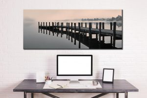 Coniston Jetty - Canvas Print on Wall