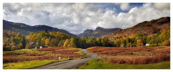 Elterwater to Langdale - Lake District Print