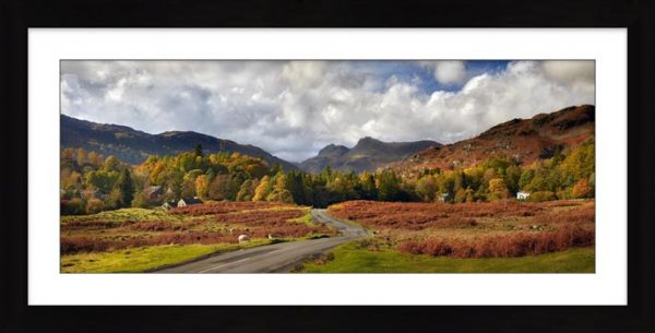 Elterwater to Langdale - Framed Print with Mount