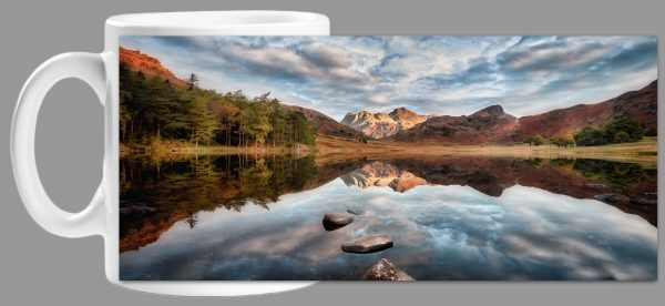 Light on Langdales Mug